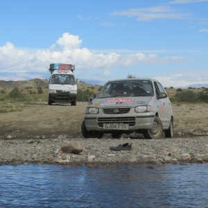 15 - MP - Mongolia River crossing 1