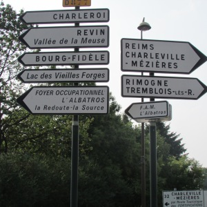 Driving through France